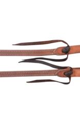 MARTIN Split Reins 5/8 Heavy Latigo Double Stitch