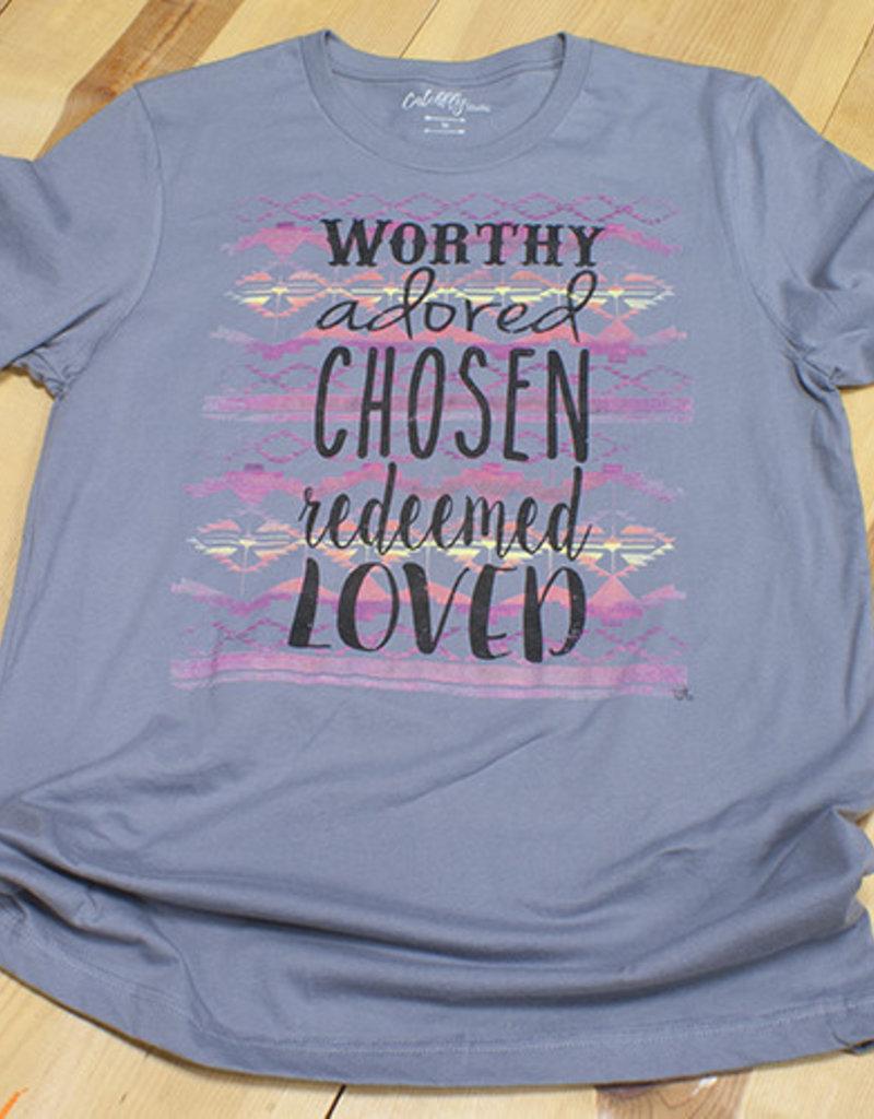 Catchfly Tshirt Worthy Adored