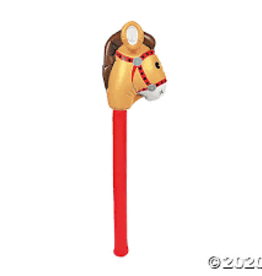 Oriental Trading Inflatable Cowboy Stick Horse