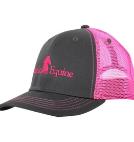 Classic Equine Kids Grey w/ Neon Pink Mesh (discontinued)