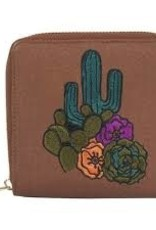 Catchfly Winslow Mini Wallet Cactus