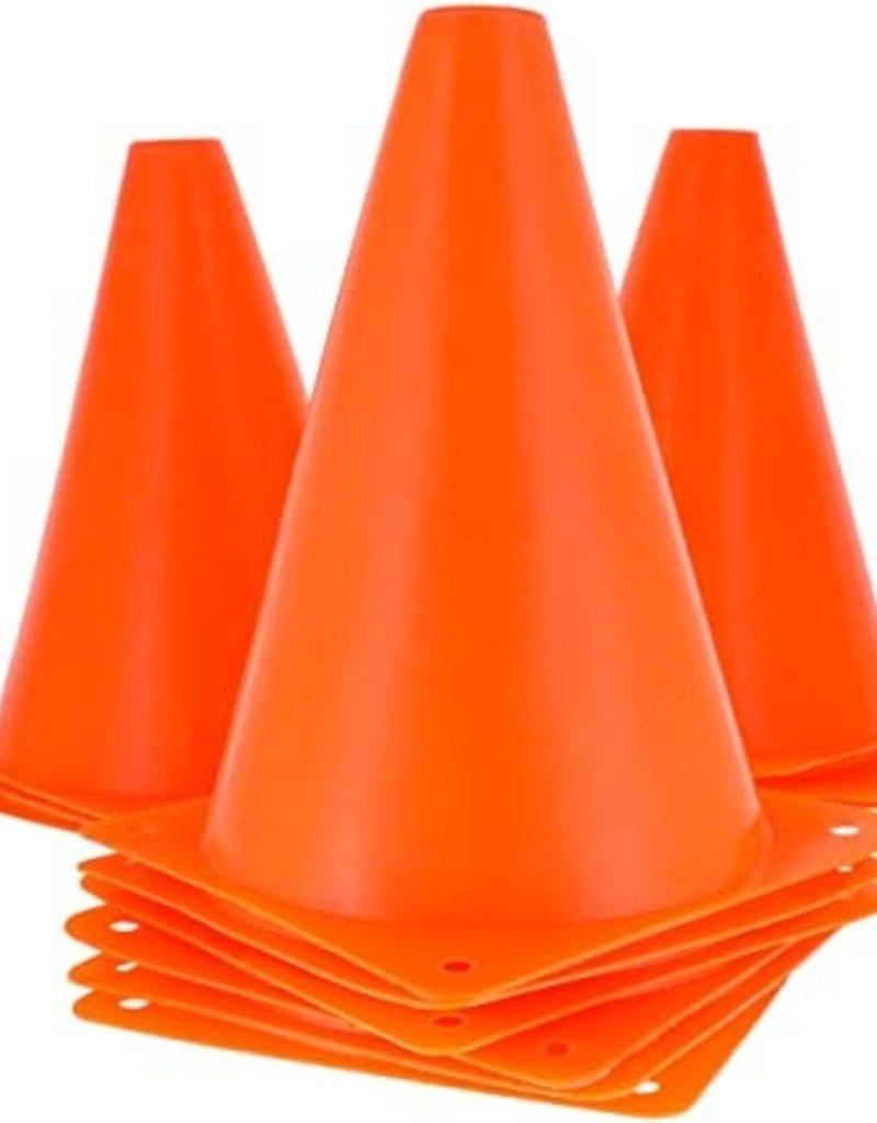 Oriental Trading Orange Plastic Cone