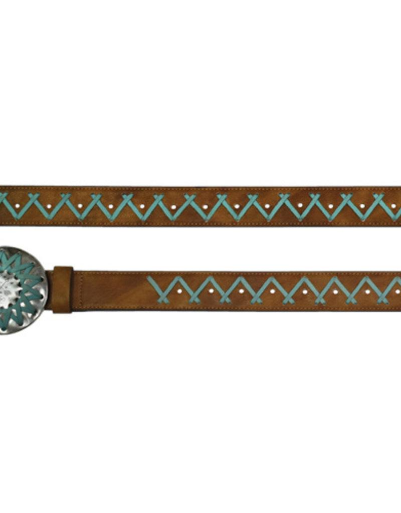 Catchfly Ladies Belt Turquoise