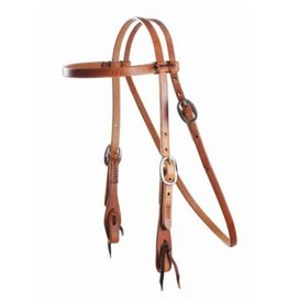 Professional's Choice Headstall Browband 5/8 SS w/ties