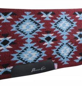 Professional's Choice Navajo Brenham Blanket Wine/Blue
