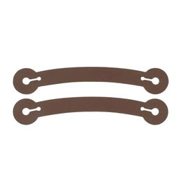 Chick Saddlery Rubber Spur Tie Down Straps sm/med