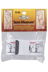 Chick Saddlery Sure-Measure Height & Weight Tape