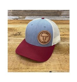 Go Rope Circle Roughout Patch Hat Heather/Maroon