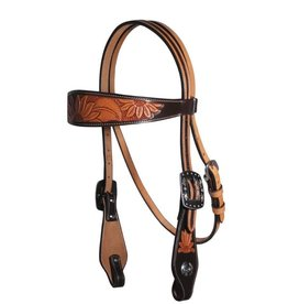 Professional's Choice Headstall Browband Sunflower