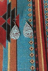 Dakota Cowgirl Leather Earrings
