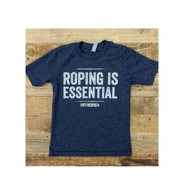 Go Rope Youth Roping Is Essential T-shirt