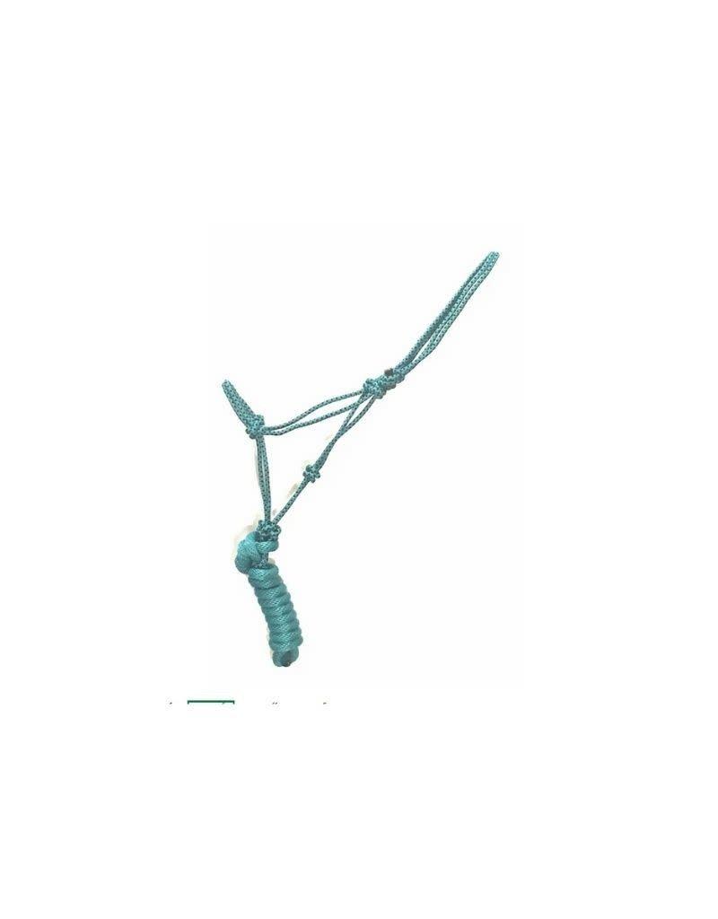 "The Epic Animal Rope Halter 5/16"" Diamond Braided w/8' lead"