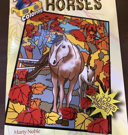Chick Saddlery 3D Horses Coloring Book