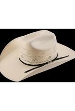 American Hat Company 8200 Rancher Straw Hat w/Blk Trim