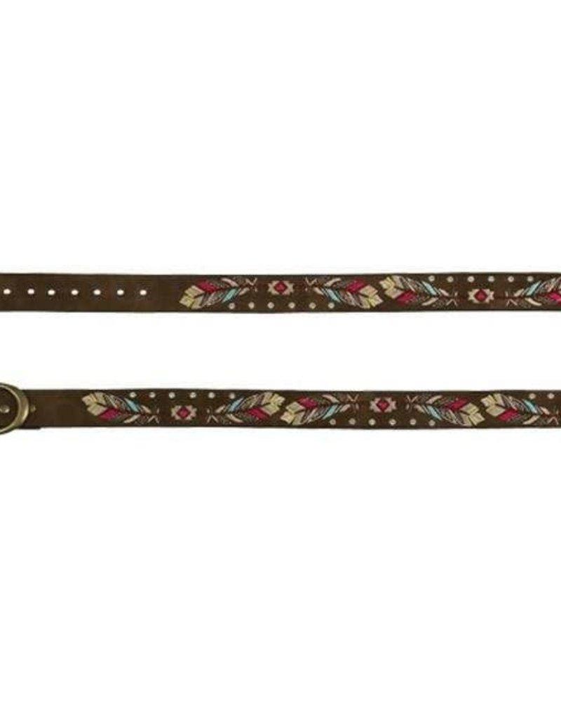 Catchfly Girls Belt Embroidered