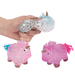 Oriental Trading Unicorn Water Bead Squeeze Toy