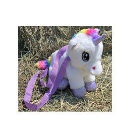 Chick Saddlery Plush Unicorn Backpack