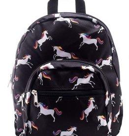 Chick Saddlery Unicorn Print Small Backpack