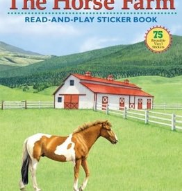 Chick Saddlery The Horse Farm - Read and Play Sticker Book