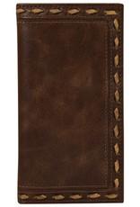 Justin Men's Rodeo Wallet Whipstitch