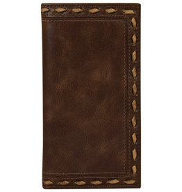 Justin Men's Rodeo Wallet Whipstitch
