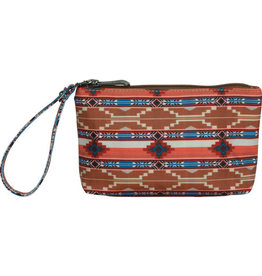 Justin Cosmetic Essentials Pouch Aztec Sandy Colors