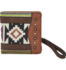Justin Small Wallet Aztec Jacquard