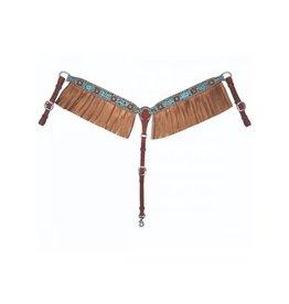 Reinsman Exotic Turquoise Metallic Breastcollar