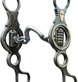 "Professional's Choice Bob Avila Coronita Shank Ported Chain   6 3/4"" Cheek"