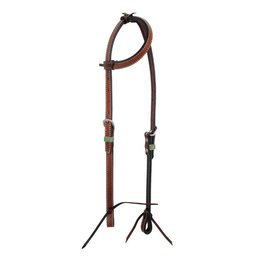Rafter T Ranch Company One Ear Headstall w/Rawhide Keeper