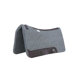 """Professional's Choice Steam Pressed Deluxe Felt Charcoal  1 1/4"""""""