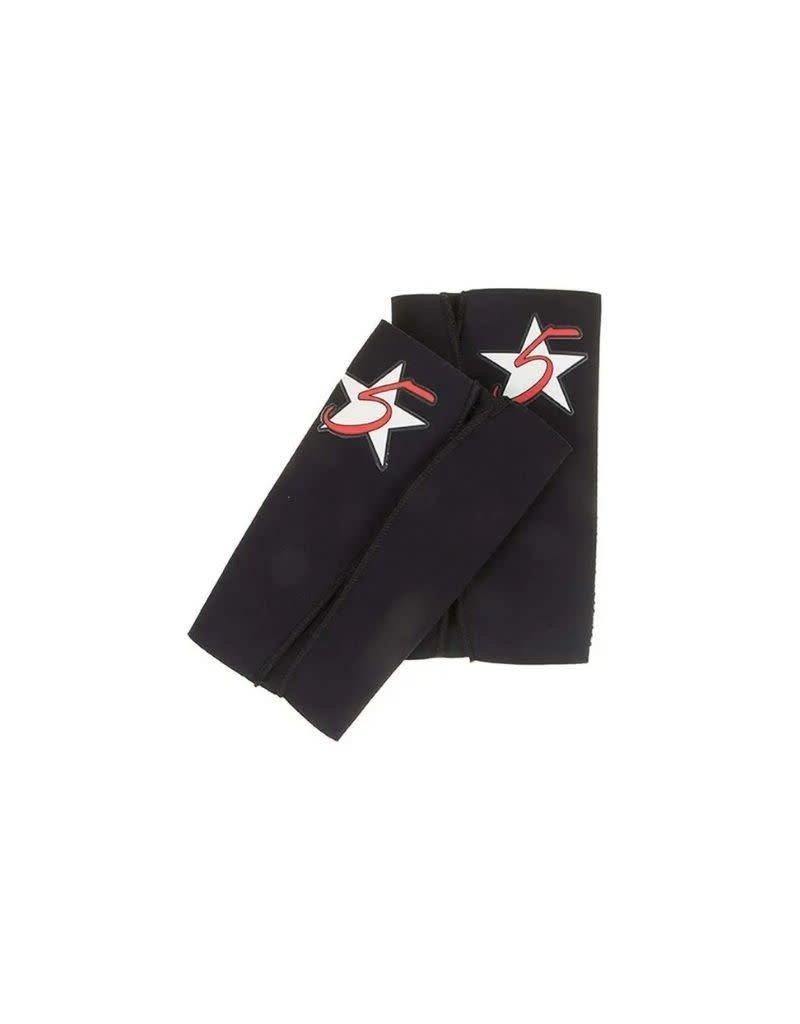 5 Star Equine Products The Shield Shin Guard (Lg/XL black)