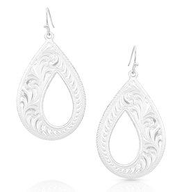 Montana Silversmiths Unforgettable Teardrop Earrings
