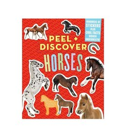 Chick Saddlery Peel & Discover: Horses - Sticker and Fact book