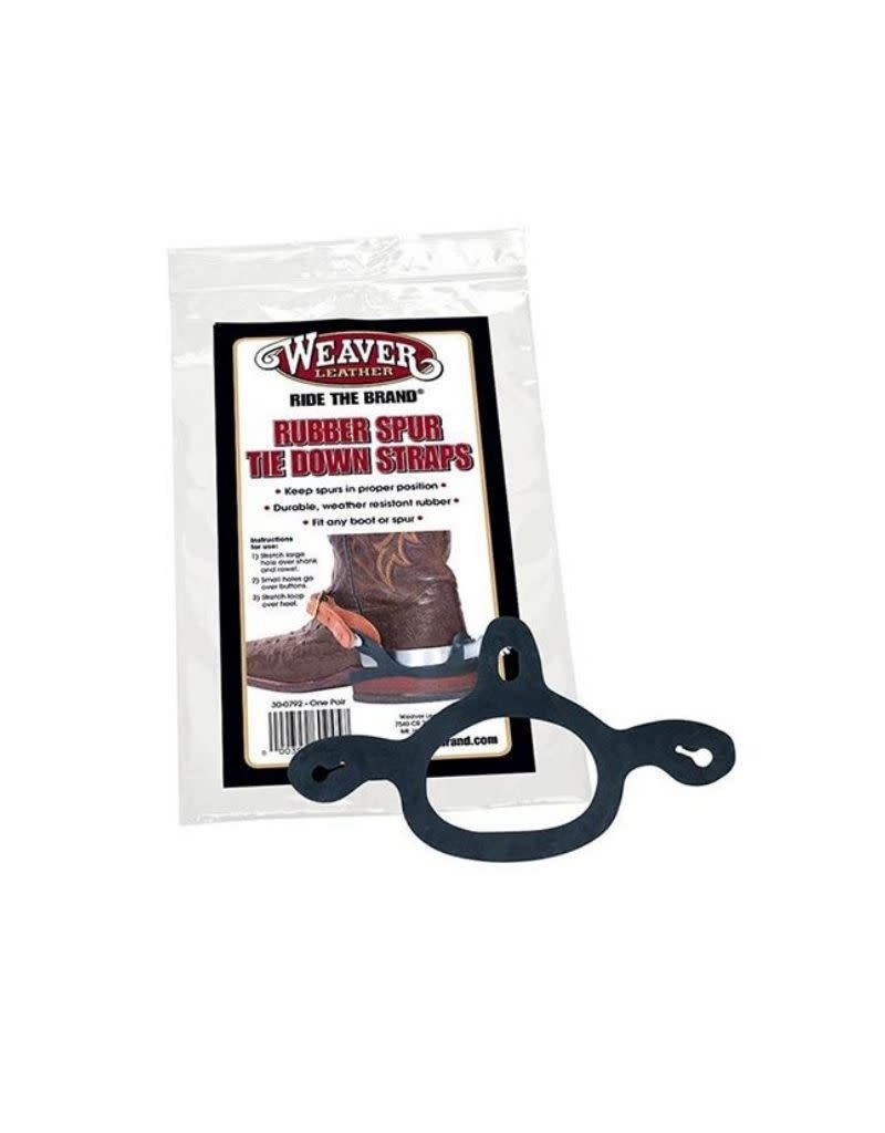 Chick Saddlery Weaver Rubber Spur Tie Down Straps