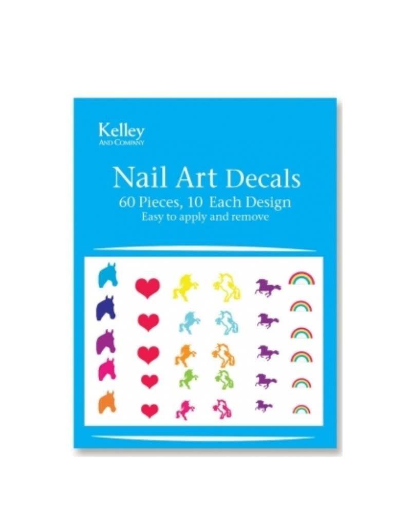 Chick Saddlery Horse Nail Art Decals- Fantasy