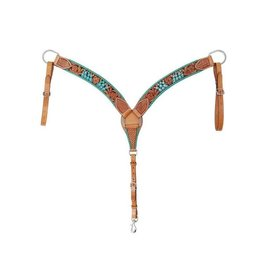 Rafter T Ranch Company Breast Collar w/ Painted Cactus