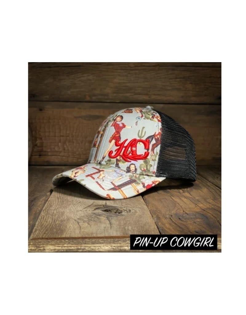 Hay Chix Hay Chix Ball Caps Pin-Up Cowgirl