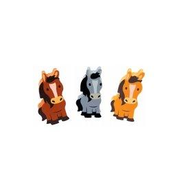 Chick Saddlery 3 pc Horse Eraser Set