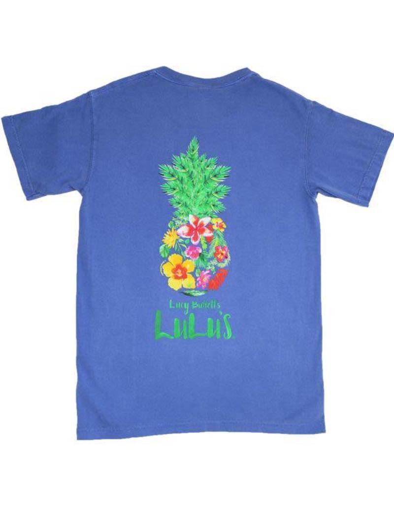 6343298cc06371 Floral Pineapple Tee Floral Pineapple Tee ...