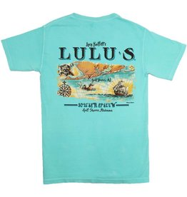 LuLu's Logo NMB Parchment Map Pocket Tee