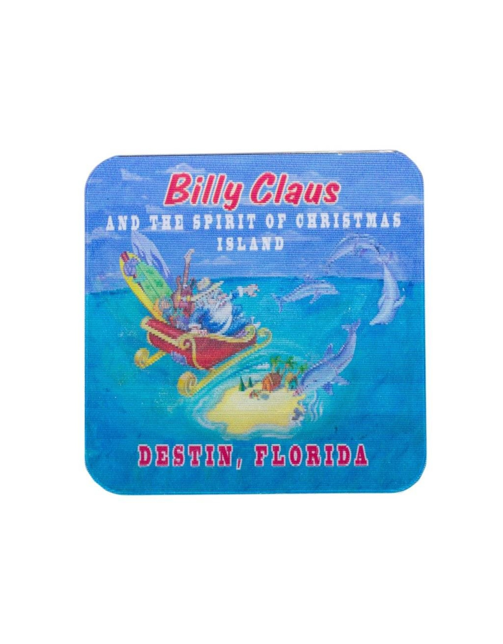 Billy Claus 3D Magnet