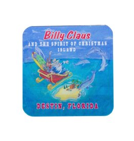 LuLu's Logo NMB Billy Claus 3D Magnet