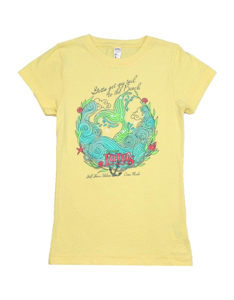 Youth Tail to the Beach Tee
