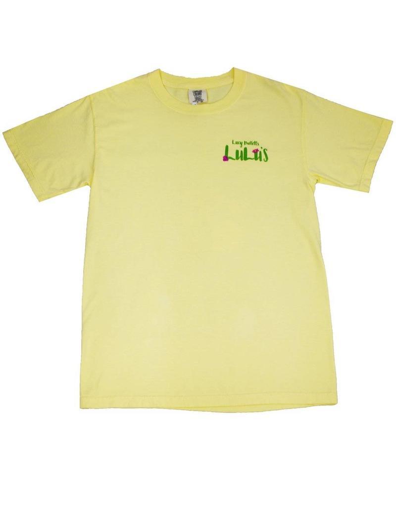 0e512700c151cd Floral Pineapple Tee - Shop LuLu Buffett