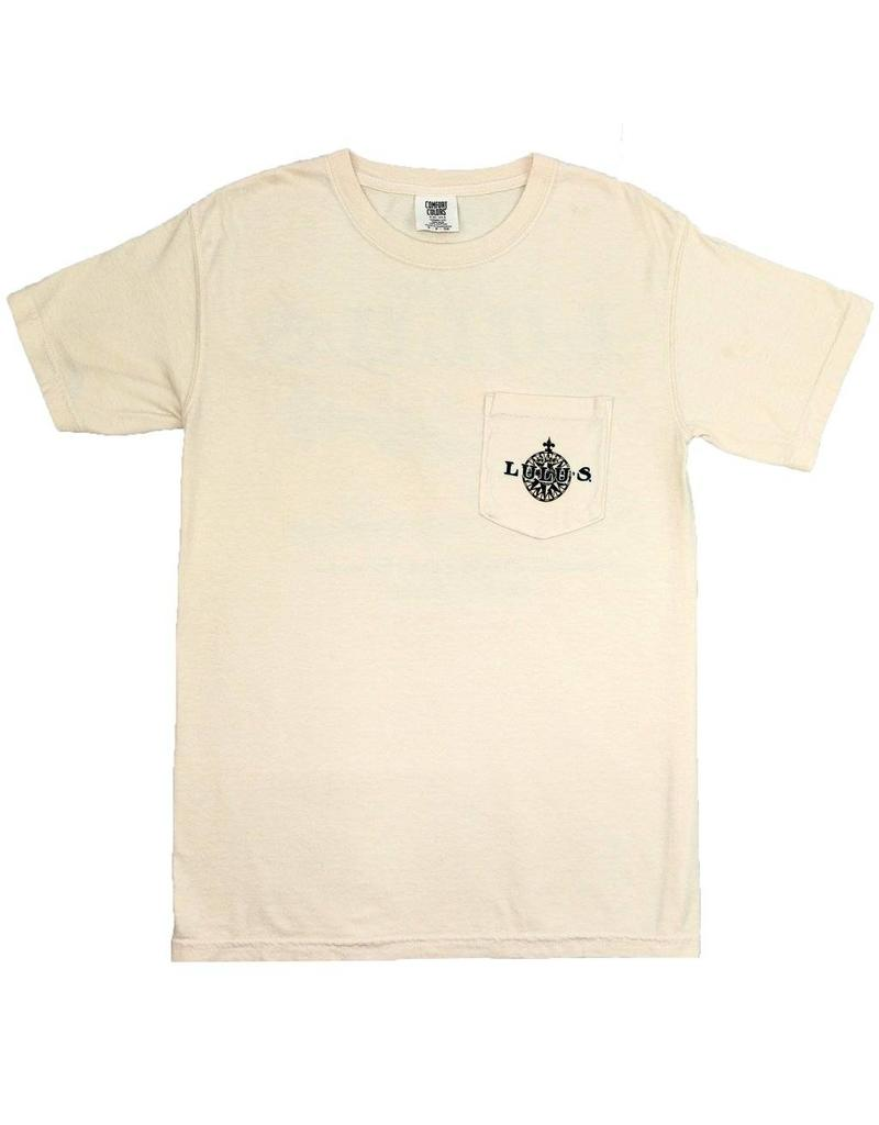 Parchment Map Pocket Tee