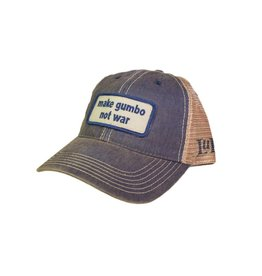 Make Gumbo Not War Trucker Hat
