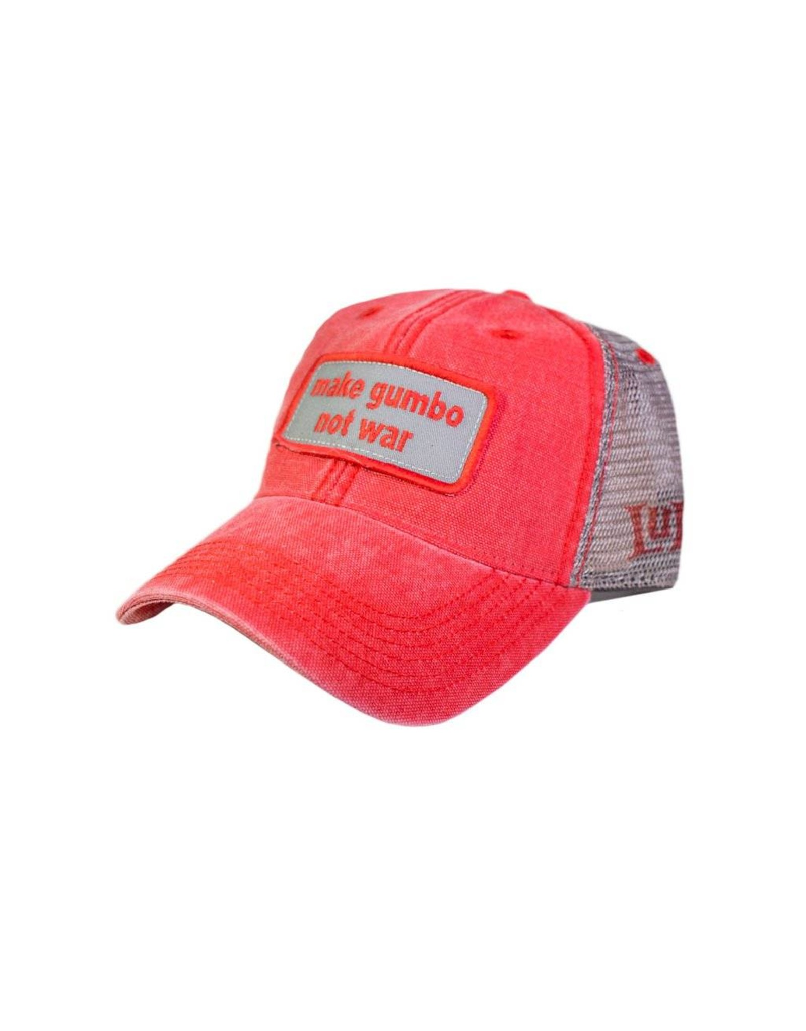 Make Gumbo Not War Trucker Hat