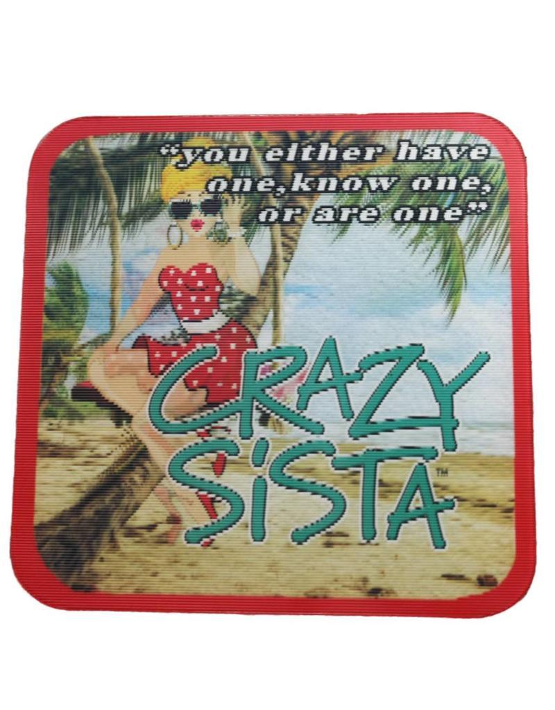 Crazy Sista 3D Magnet