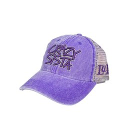 Crazy Sista Logo Trucker Hat